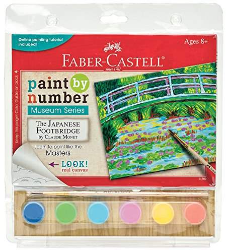 Museum Series Paint By Number Kit 6'X8'-The Japanese Footbridge