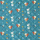Fabulous Fabrics Steppstoff Wintertiere/Äpfel und Birnen -
