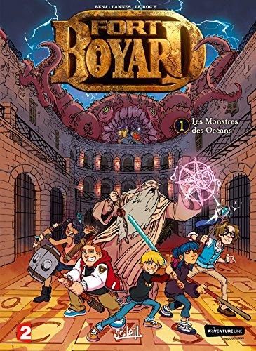 Fort Boyard 01 - Les Monstres des océans