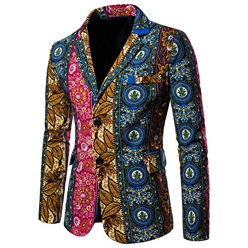 Sannysis Lässiger Blazer Herren Slim Fit Freizeit Causual Tweed Blazer Sakko Business Hochzeit Slim Fit 2 Knopf Kurzmantel