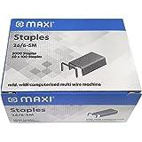 Maxi 26/6 STAPLE PINS PACK OF 5000PCS, 26 6 5M