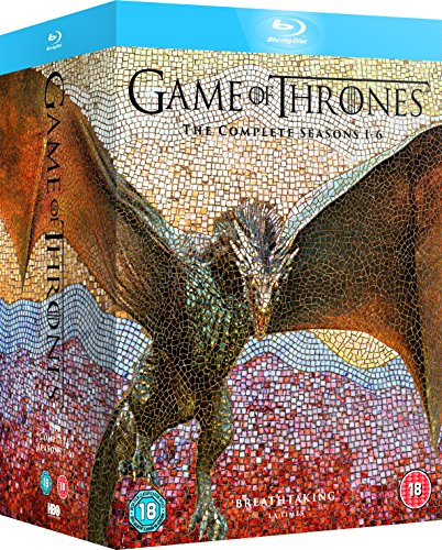 61 XFktCaRL - Game of Thrones Season 1-6 [Blu-ray] [2016] [Region Free]