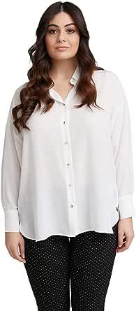FIORELLA RUBINO: Camicia Lunga Bianco