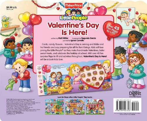 Fisher Price Valentine's Day Is Here! (Fisher-Price Little People)