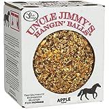 Uncle Jimmy's Schwebender Ball (Erhältlich in verschiedenen Geschmacksrichtungen) - 1,59kg - Sehr wohlschmeckend und bietet Ihrem Pferd Beschäftigung!