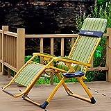 Deckchairs Feifei Schwerelosigkeit Patio Lounge Chair Oversize XL Verstellbare Liege mit Kopfstütze Unterstützung 210kg Zusammenklappbar (Farbe : 1006)