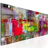 murando Bilder 135x45 cm - Leinwandbilder - Fertig Aufgespannt - Vlies Leinwand - 1 Teilig - Wandbilder XXL - Kunstdrucke - Wandbild - Abstrakt a-A-0217-b-b