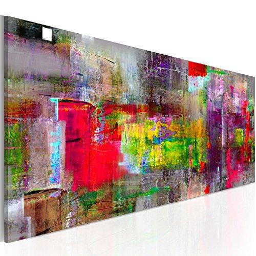 murando - Bilder 135x45 cm - Leinwandbilder - Fertig Aufgespannt - Vlies Leinwand - 1 Teilig - Wandbilder XXL - Kunstdrucke - Wandbild - Abstrakt a-A-0217-b-b (Abstrakte Bilder)