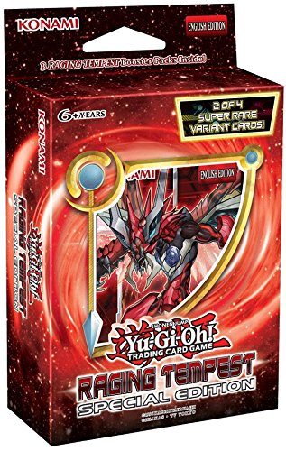 Yu-Gi-Oh! Raging Tempest Special Edition - 1 Display mit 10 Packs - Deutsch -