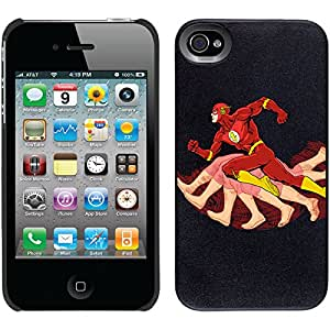 Coveroo Thinshield Snap-On Cell Phone Case for iPhone 4/4S - Flash Side