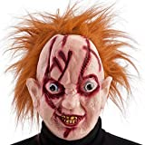 Masque Chucky Poupee Assassin Adulte - Halloween Deguisement - 612