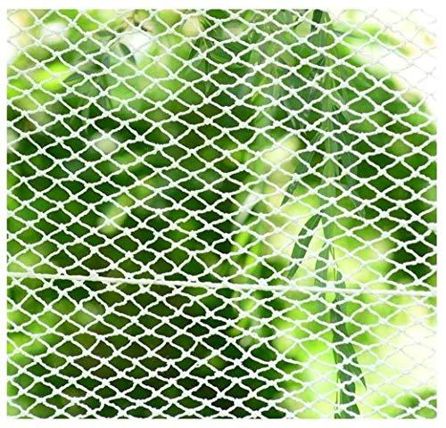 NIUFHW Kinder-Fallschutznetz, Draussen Zaun-Netz Schutznetz Dekorationsnetz Katzennetz, Klettern Balkon Geländer Hängematte Trampolin Krippe Etagenbett Sicherheitsnetz 3x6m (Size : 1 * 2m) -