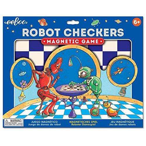 eeBoo- Damas magnéticas Robots
