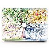 AQYLQ MacBook Schutzhülle/Hard Case Cover Laptop Hülle [Für MacBook Pro 13 Zoll mit Retina Display - ohne CD-Laufwerk: A1425/A1502], Plastik Hartschale Tasche Schutzhülle, QCS-4 bunter Baum