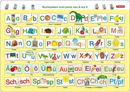 Fragenbär-Mini-Lernposter: Buchstaben und Laute von A bis Z (in der Schulbuch-Schrift) S 45 x 32 cm: stabiler Karton, folienbeschichtet, abwischbar (Lerne mehr mit Fragenbär) (Buchstabe Stuff C)