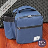 Best Thermos Lunch Boxes For Boys - Lunch Bag Large Capacity Soft Cooler Tote Insulated Review