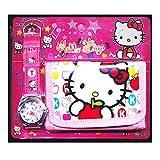Happy Bargains Ltd, Set con orologio e portafoglio di Hello Kitty, per bambine e ragazze, idea regalo per Natale o compleanno