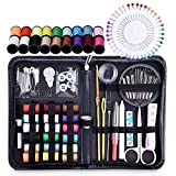 #4: CONNECTWIDE®Sewing Kits for Adults, Beginners, Travel, Home, Office, Camping & Emergency, over 110 pcs Sewing Supplies Mending Kit Accessories with Quality Notions Thread, Scissors & Needle