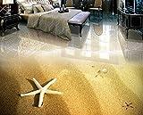 Kuamai 3d-Bodenbeläge pvc wasserdicht Benutzerdefinierte Strand Foto wallpaper für Wohnzimmer Schlafzimmer Badezimmer 3d stock Wandbild wand Papierrollen 120X100CM