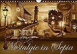Nostalgie in Sepia (Wandkalender 2018 DIN A4 quer): Nostalgie und Kult aus den 50er, 60er und 70er Jahren in sanften Sepiabraun (Monatskalender, 14 ... 01, 2017] Jüngling alias Mausopardia, Monika