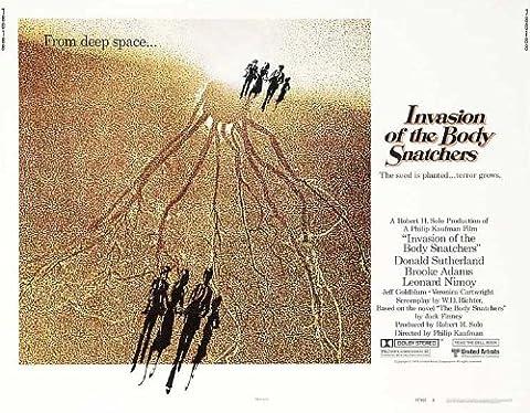 Invasion of the Body Snatchers Plakat Movie Poster (30 x 40 Inches - 77cm x 102cm) (1978) B (Brooke Adams Weihnachten)