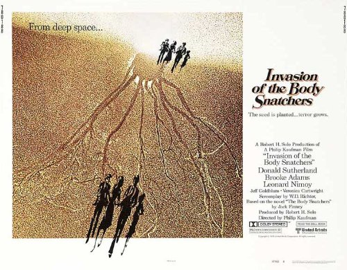 Invasion of the Body Snatchers Plakat Movie Poster (30 x 40 Inches - 77cm x 102cm) (1978) B