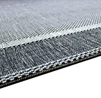 Flatweave Border Design Very Hardwearing - Indoor or Outdoor Rug Patio / Living Room / Dining Room Use - by Modern Style Rugs