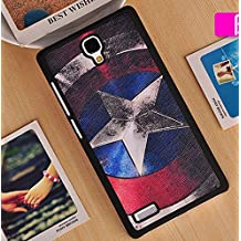 "Prevoa ® 丨 Colorful Hard PC Funda para Xiaomi redmi NOTE / red rice NOTE 5.5"" Smartphone - 17"