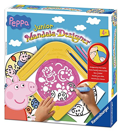 Ravensburger 29754 - Peppa Pig - Junior Mandala Designer