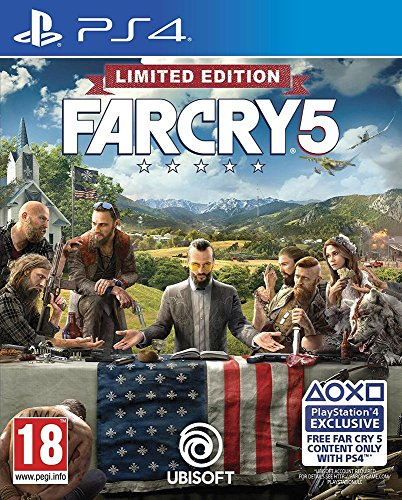 Far Cry 5 - Edición Limited [Exclusiva Amazon] (precio: 38,90€)