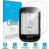 Olycism Compatible pour Garmin Edge 830 Protection écran Verre trempé (2 pièces) 0.3mm Dureté 9H Transparence Anti…