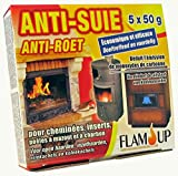 Flam'Up 0800 Anti-suie 5 x 50 g