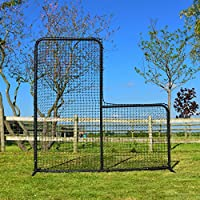 FORTRESS 7ft x 7ft Baseball L-Screen – Frame and Net – The very best available – [Net World Sports]