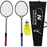 Neulife Addvish Badminton Racket with 3 Shuttlecock