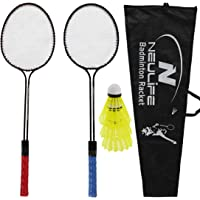 Neulife Badminton Racket with 3 Shuttlecock