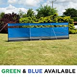 Andes Large Camping Windbreak Beach Windshield Shelter With Top Window - 5M x 1.4M