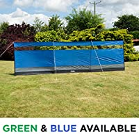 Andes Large Camping Windbreak Beach Windshield Shelter With Top Window - 5M x 1.4M 22