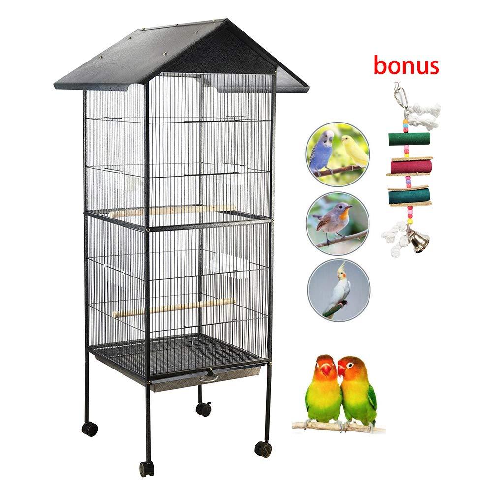 Jaula de Metal para Pájaro Mascotas
