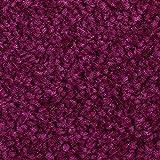 Teppichboden Auslegware Meterware Hochflor Shaggy Langflor Velour lila 400 und 500 cm breit, verschiedene Längen