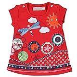 boboli, 221083 - Vestido Punto Elástico, color rojo , talla 3M(62cm)