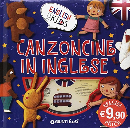 Canzoncine inglese. Ediz. illustrata. Con CD Audio