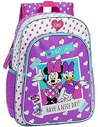 Disney 24923A1 Minnie Daisy Nice Day Mochila Escolar, 19.2 Litros, Color Rosa