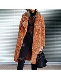 Amazon.it  peluche - Giacche e cappotti   Donna  Abbigliamento e7d005e458f8