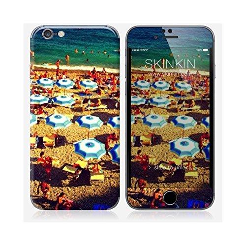 Coque iPhone 6 et 6S de chez Skinkin - Design original : Parasols par Pierre-Henry Precigout Skin iPhone 6 et 6S
