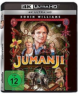 Jumanji (4K Ultra HD) [Blu-ray]