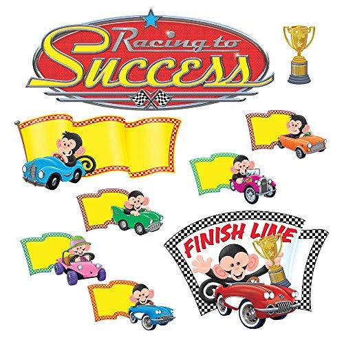 nkey Mischief Racing zum Erfolg Bulletin Board Set (45 Stück) ()