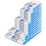 BoxLegend Worki próżniowe, 15 sztuk, worki do przechowywania, worki próżniowe 1XXL + 2XL + 5L + 5M + 2S wielokrotnego użytku