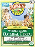 Earth Best Whole Grain Oatmeal Cereal