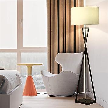 GUANSIJIER Fussboden Lampen Led Dekoration Boden Lichter Schlafzimmer Wohnzimmer Moderne Bro Studie Lampe Home Improvement Beleuchtung Nachttisch Licht