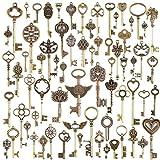480c70bc5f13 Diossad 69 unidades llaves vintage llaves esqueleto Bronce DIY accesorios  dijes bisuteria Hecha a Mano